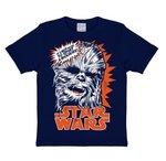 Star Wars - Chewbacca - Blauw Kinder T-shirt