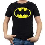 Batman - Vintage Logo - DC Comics Zwart Kinder T-shirt