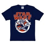 Star Wars - X-Wing Rebel Starfighter - Blauw Kinder T-shirt