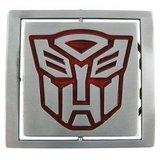 Transformers Donker Draaibare Logo Riem Buckle/Gesp