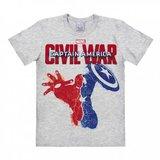 Captain America - Civil War - Marvel  Grijs Heren easy-fit T-shirt