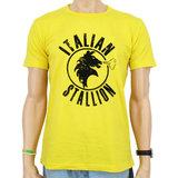 Rocky Italian Stallion Heren Geel T-shirt