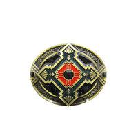 New Classic Antiek Bronze Plated Cross Celtic Knot Riem Buckle/gesp