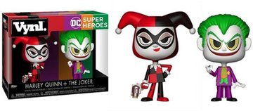 DC COMICS - FUNKO DC SUPER HEROES 2-PACK HARLEY QUINN + THE JOKER