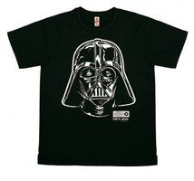 Star Wars - Darth Vader - Portrait - T-Shirt Vintage Mens - vintage black
