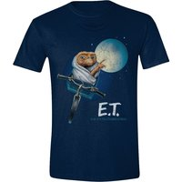 E.T. - MOON BICYCLE MEN T-SHIRT - NAVY