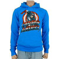 Captain America Marvel Hoodes Sweatshirt