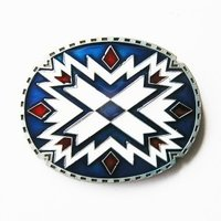 Southwest - Indian Design - Riem Gesp/Buckle