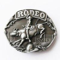 Western Rodeo Race Cowboy Riem Buckle/Gesp
