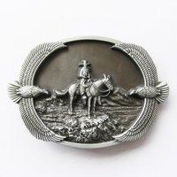 Cowboy Adelaars Western Riem Buckle/Gesp