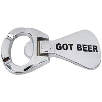 Flesopener Got Beer Chroom Riem Buckle/Gesp