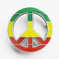 Peace - Teken - Riem Buckle/Gesp