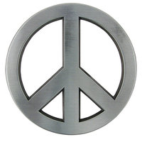 Peace - Metal - Riem Buckle/Gesp