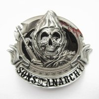 Sons of Anarchy Grim Riper Blood Riem Buckle/Gesp