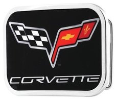 Corvette - Chevy Flags - Riem Buckle/Gesp