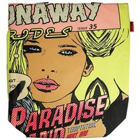 Pop Art Comic Paradise Roze Shopper