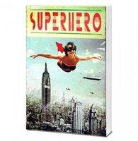 Superhero Girl Notitieblok
