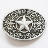 Southwest - Star - Metal - Riem Buckle/Gesp