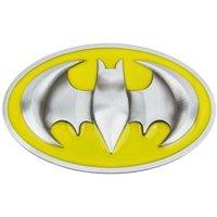 Batman 3D Logo Geel/Zilver Riem Buckle/Gesp