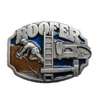 Dakdekker - Roofer - Embleem - Riem Buckle/Gesp