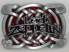 Led Zeppelin Design Riem Buckle/Gesp