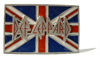 Def Leppard - Music Band - Riem Buckle/Gesp