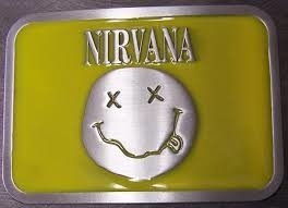 Nirvana - Music Band - Riem Buckle/Gesp