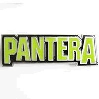 Pantera - Groove - Metal Music Band Riem Buckle/Gesp