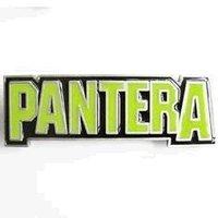 Pantera Groove Metal Music Band Logo Buckle/Gesp