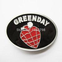 Green Day Punk Rock Band Logo Buckle/Gesp