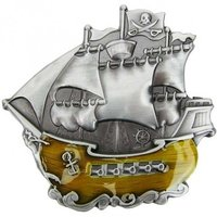 Piraten Zeilschip Riem Buckle/Gesp