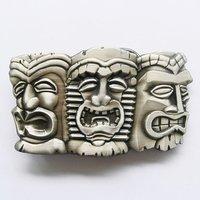 Tribal Tiki Tiki Maskers Riem Buckle/Gesp