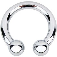 Piercing - Open - Chroom - Riem Buckle/Gesp