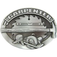 Timmerman Carpenter Metal Embleem Riem Buckle/Gesp