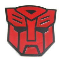 Transformers Autobots Logo Rood/Zwart Riem Gesp/Buckle