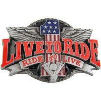 Live to Ride Riem Buckle/Gesp