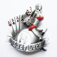 Lady Luck Casino Riem Buckle /Gesp