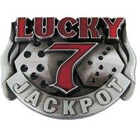 Lucky 7 Jackpot Riem Buckle/Gesp
