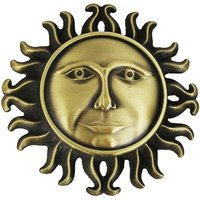 Smiling Sun Brons Riem Buckle/Gesp