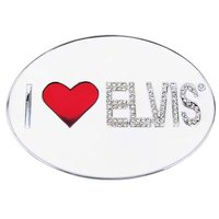 Elvis I Love Elvis Riem Buckle/Gesp