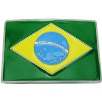 Braziliaanse Vlag Riem Buckle/Gesp