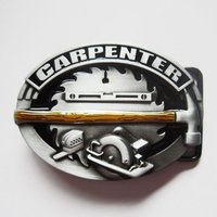 Timmerman Carpenter Embleem Riem Buckle/Gesp