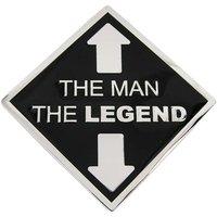 The Man The Legend Riem Buckle/Gesp