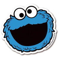 Sesamstraat Cookie Monster Magneet