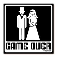 Game Over Magneet