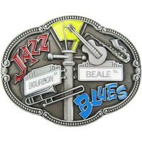 Jazz and Blues Riem Buckle/Gesp