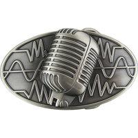 Microfoon Retro Style Riem Buckle/Gesp