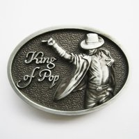 Michael Jackson King of Pop Riem Buckle/Gesp