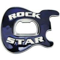 Rock Star Flesopener Blauw Riem Buckle/Gesp