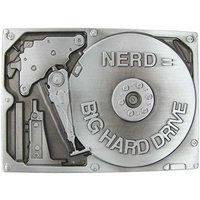 NERD Big Hard Drive Riem Buckle/Gesp